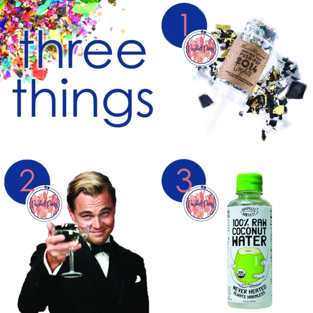 3 things NYE